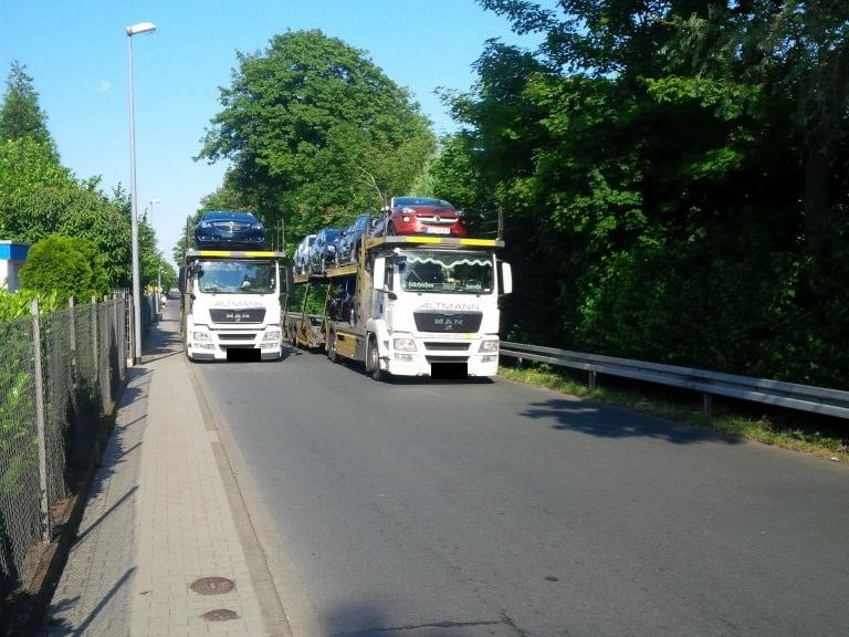 Verkehrssituation in Dornberg